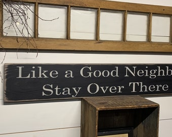 Gimme Some Sugar Decor for any room Handmade too. Antiqued Long Sign Great gift S-438 Wooden