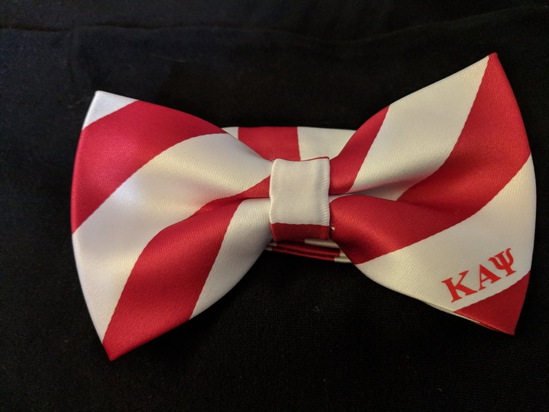 Fraternity Bow Tie inspired by Kappa Alpha Psi Phi Nu Pi