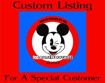 CUSTOM LISTING for dlmcclintick - Set of 4 Disney Family Shirts Mickey Minnie Embroidery Mouse Ears Family Vacation Clothes or Cruise Shirt
