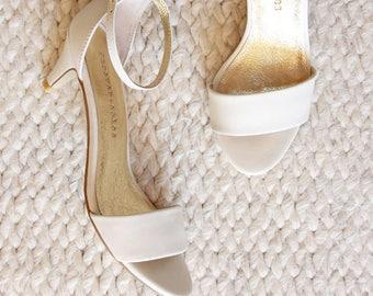 Wedding Shoes Low Heel Etsy