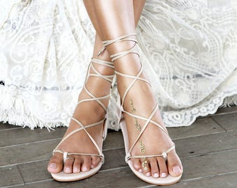 2c794e37be9613 Bridal Shoes Barefoot Sandals and Bridal by ForeverSoles on Etsy