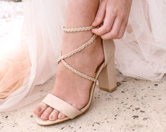 ad1d232f99f67e Bridal Shoes Barefoot Sandals and Bridal by ForeverSoles on Etsy