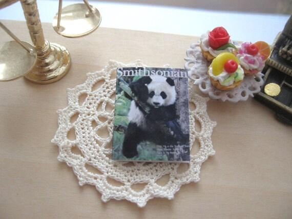 maison de poupée ours panda smithsonian magazine 12 échelle miniature