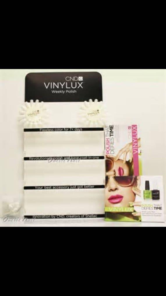 Estante de esmalte de uñas CND vinylux