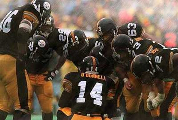 Sports & Outdoors NEIL ODONNELL PITTSBURGH STEELERS 8X10 SPORTS ACTION PHOTO A