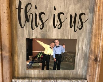 This Is Us Canvas Etsy