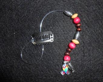 Autism Fashionable Handmade No Slip Hair Clip