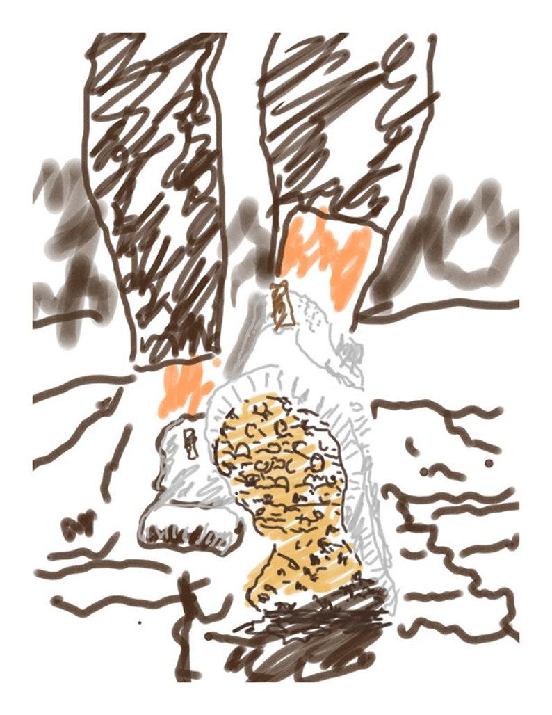 Drawings by Dan  Walking image 0
