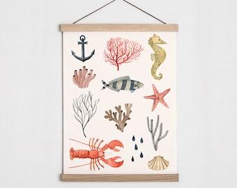 Wall Chart Sealife