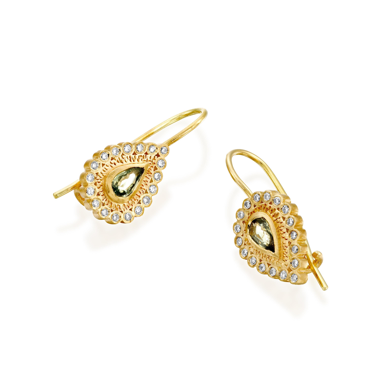 Sapphire Drop Earrings Designer Earrings Sapphires Jewelry ...