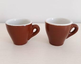 6fbc25a6c54 Vintage Italian espresso cups