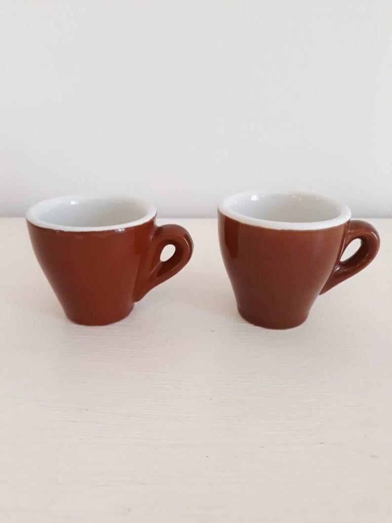 847f09b7b Vintage Italian espresso cups set 2 espresso coffee cups