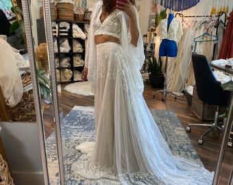 Nurture Two Piece Gown on sale