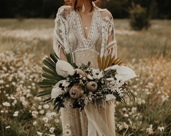 Dreamcatcher Gown please note lace will vary as is vintage. No two will ever be the same.
