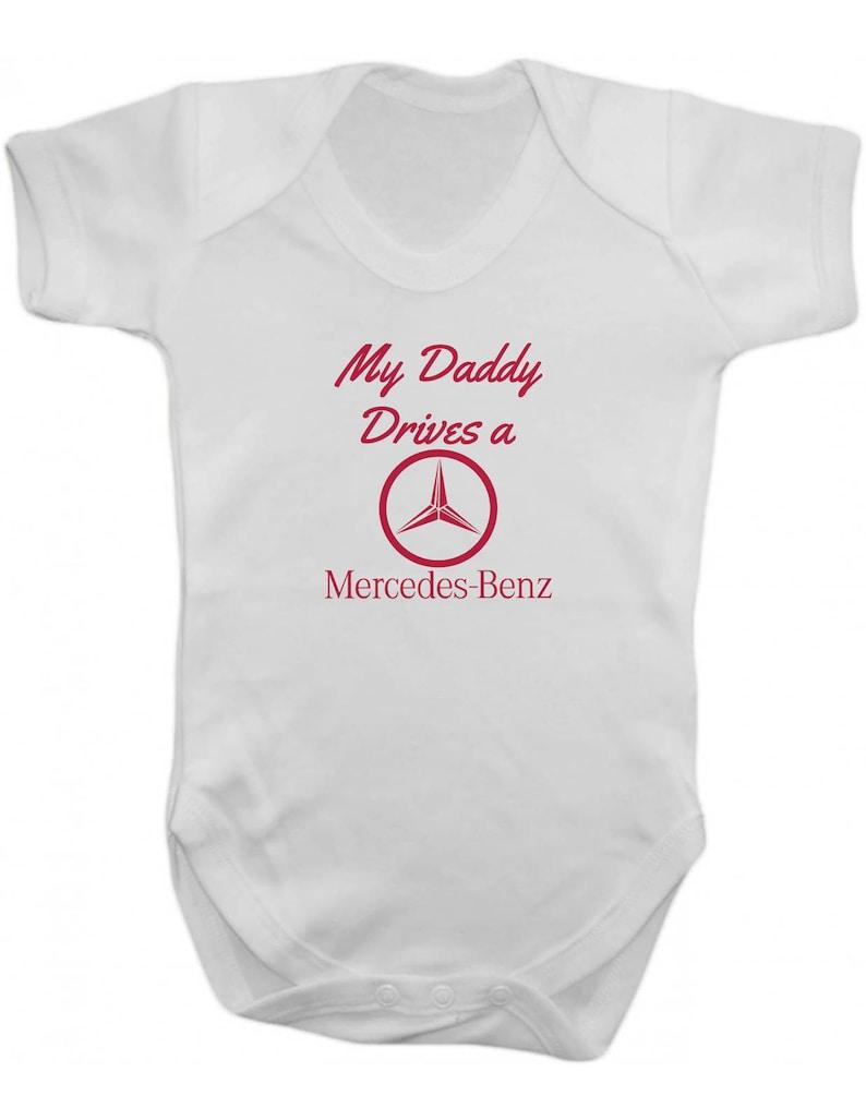 Mein Vater Fährt Einen Mercedes Benz Baby Body Weste Baby Etsy