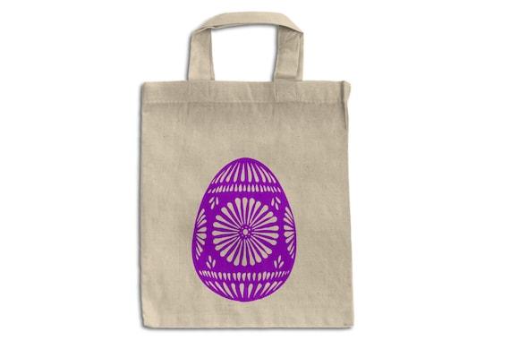 Oeuf de Pâques Tote Bag-Easter Egg sac - 100 % coton