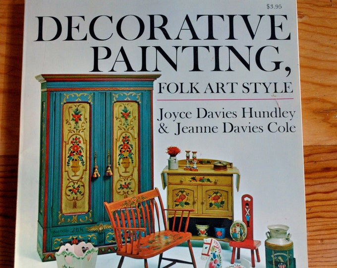 Decorative Painting Folk Art Style Joyce Davies Huntley Rosemaling Pattern Book