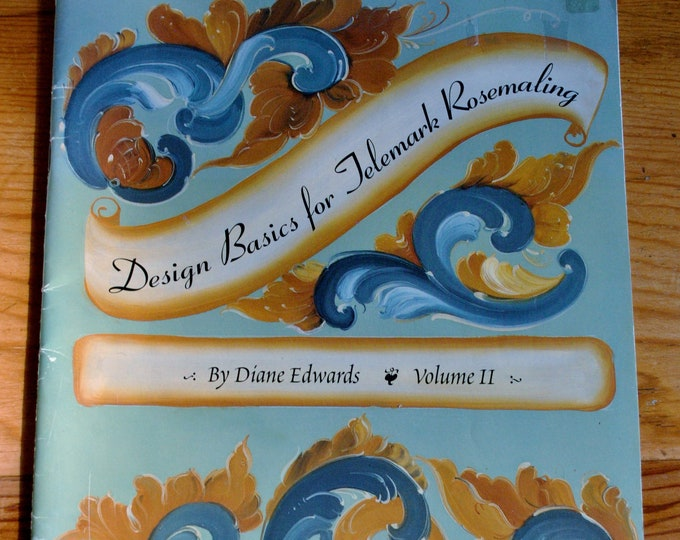 Design Basics for Telemark Rosemaling Book Diane Edwards
