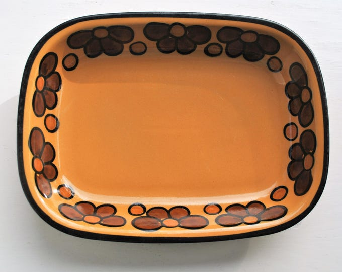Arabia Flower Oven to Table Serving Dish