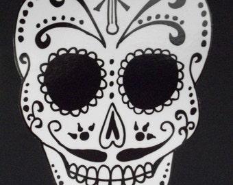 Day of the Dead Art Catrin Sugar Skull Car Sticker. #36/#43