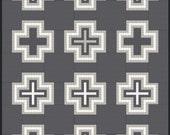 Pendleton Wool Blanket Patchwork Quilt Pattern Full Size PDF DOWNLOAD