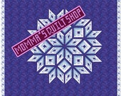 Amish Diamond Log Cabin Star Pattern PDF INSTANT DOWNLOAD