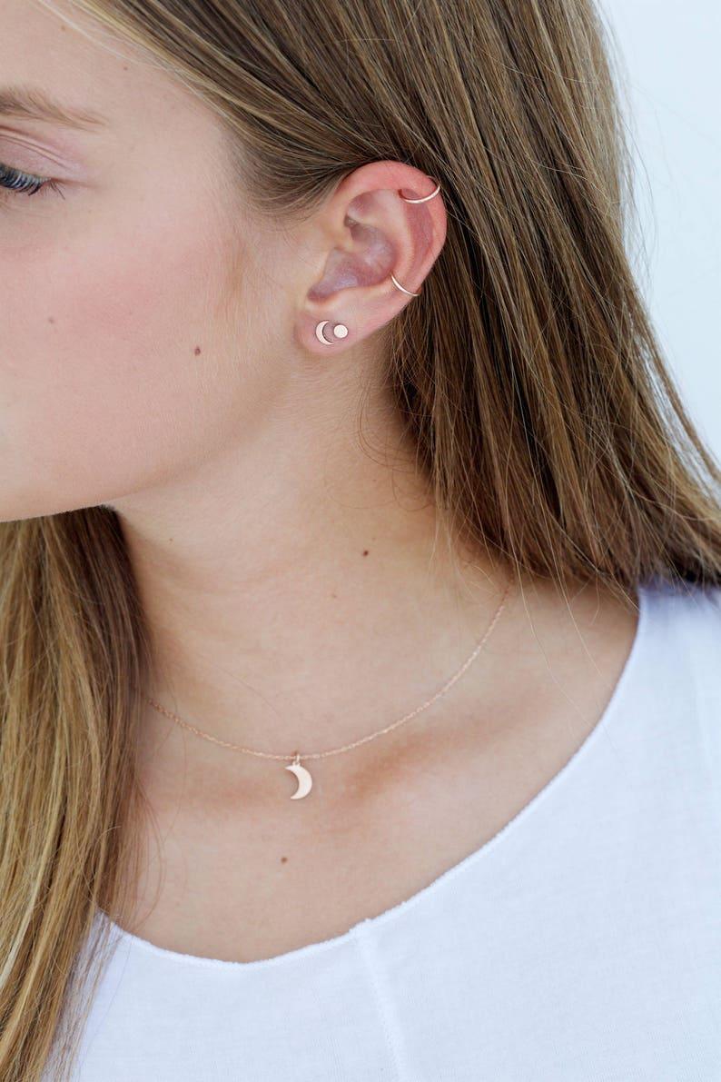 Conch Piercing Gold Hoop,Tiny Hoop Earrings Small Hoop Earrings Cartilage Hoop Earrings Dainty Hoops Minimalist Hoop Earrings