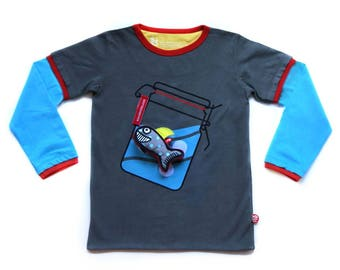 BEEETÚ T-shirt Waving + shark toy