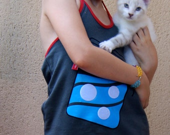 BEEETÚ Halter top with fish toy
