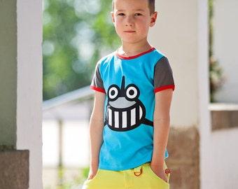 BEEETÚ laugh of a shark T-shirt