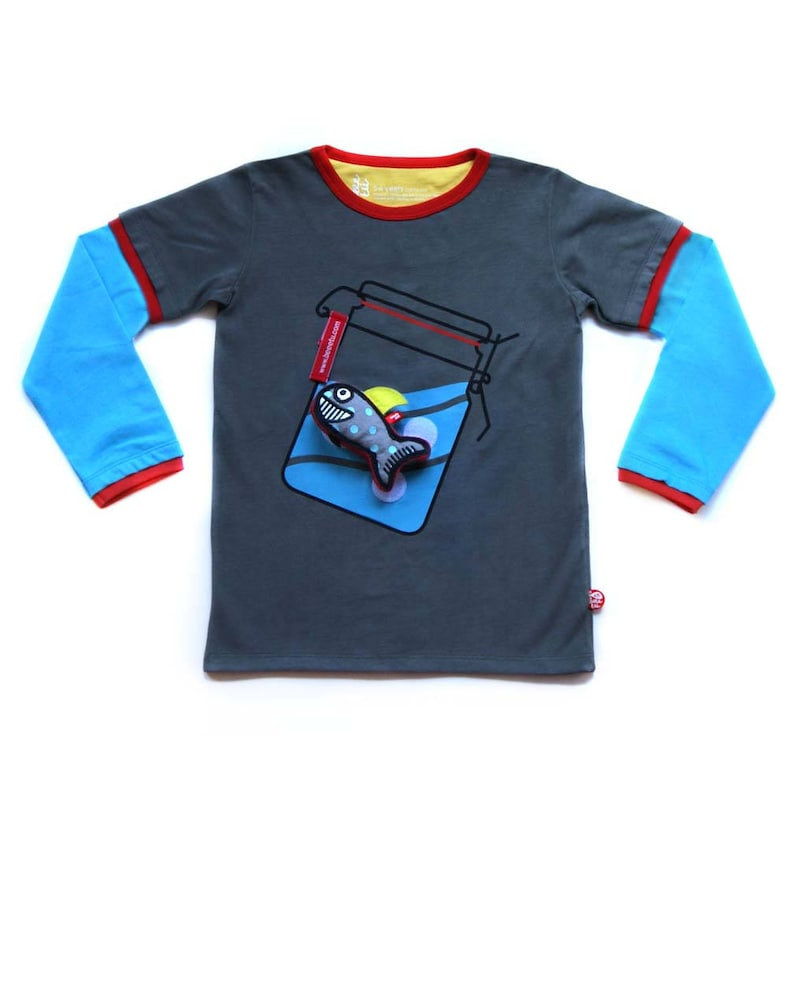 BEEETÚ T-Shirt Waving  Shark toy image 0