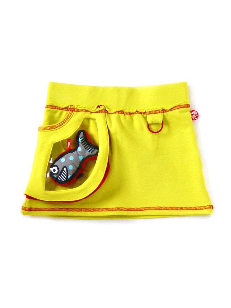 Miniskirt window bag  happy fish image 0