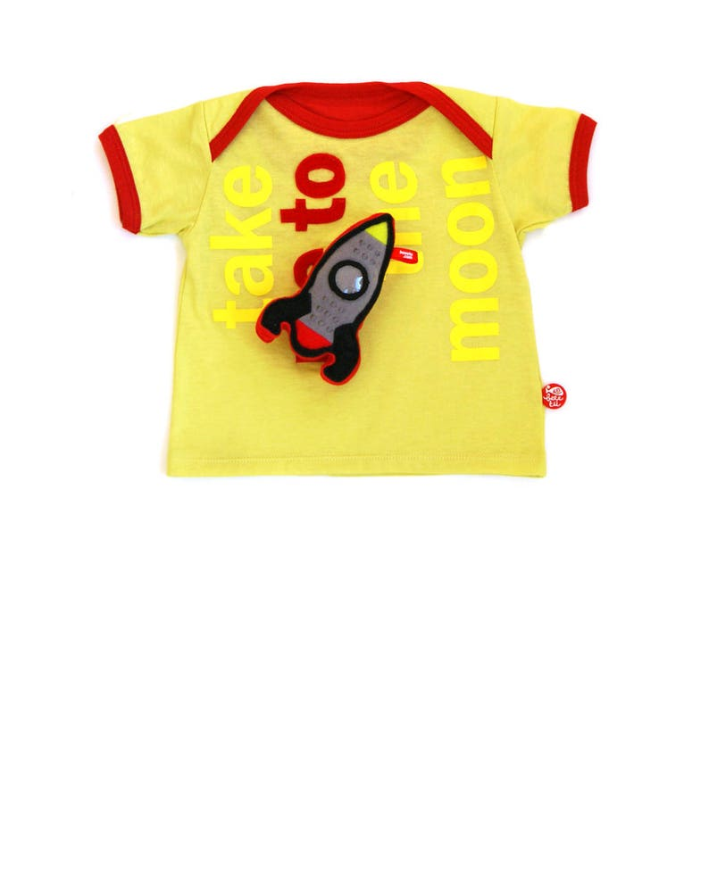 BEEETÚ Baby T-shirt Take me to the Moon image 0