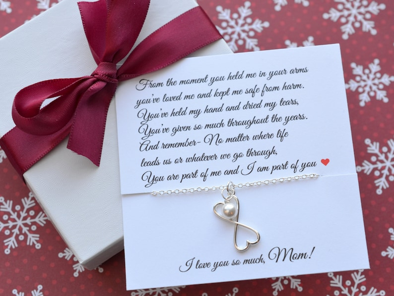 Sterling Silver Mother of the Bride Mom Gift Mothers Day Gifts for MOM Jewelry for Mom Mothers Poem Mother of the Groom