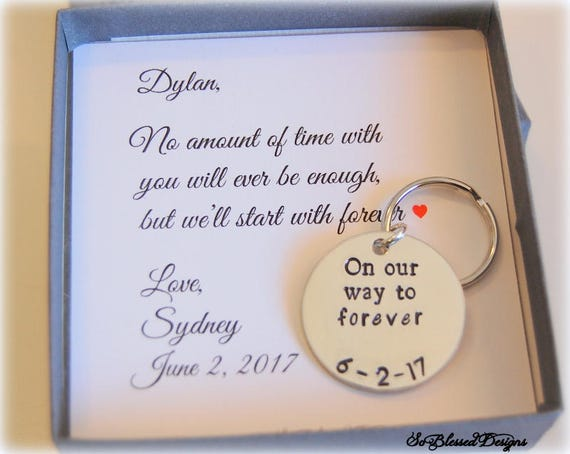To Groom From Bride Wedding Day Gift For Groom On Wedding Etsy
