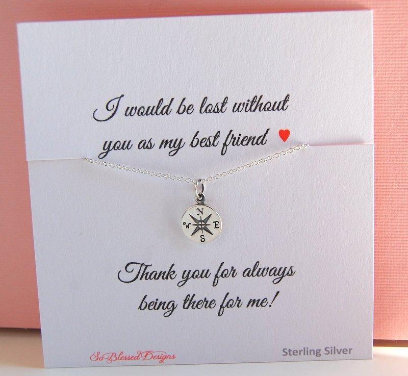 Best Friend Gift Birthday For Friends Compass