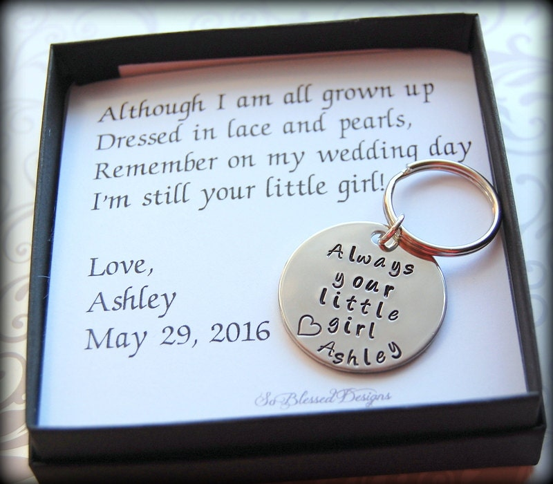 Gifts For Father Of The Bride Always Your Little Girl From Etsy