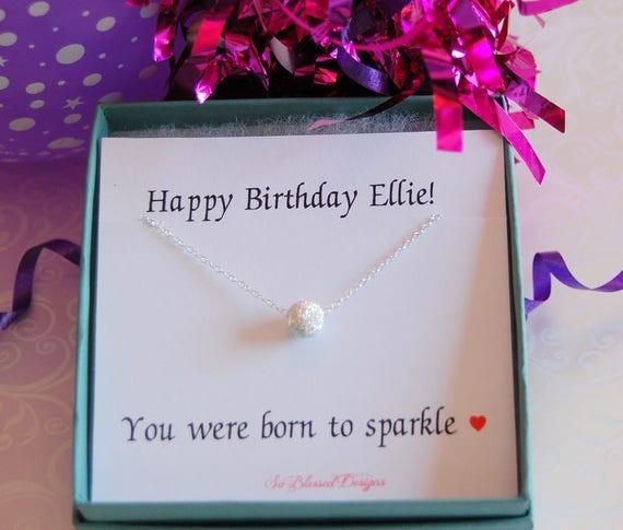 Birthday Gifts For Her Teen Gift Necklace