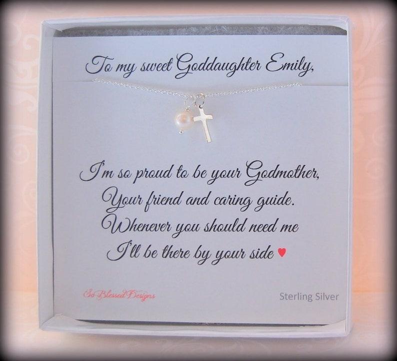 GODDAUGHTER Gift Baptism For Goddaughter First