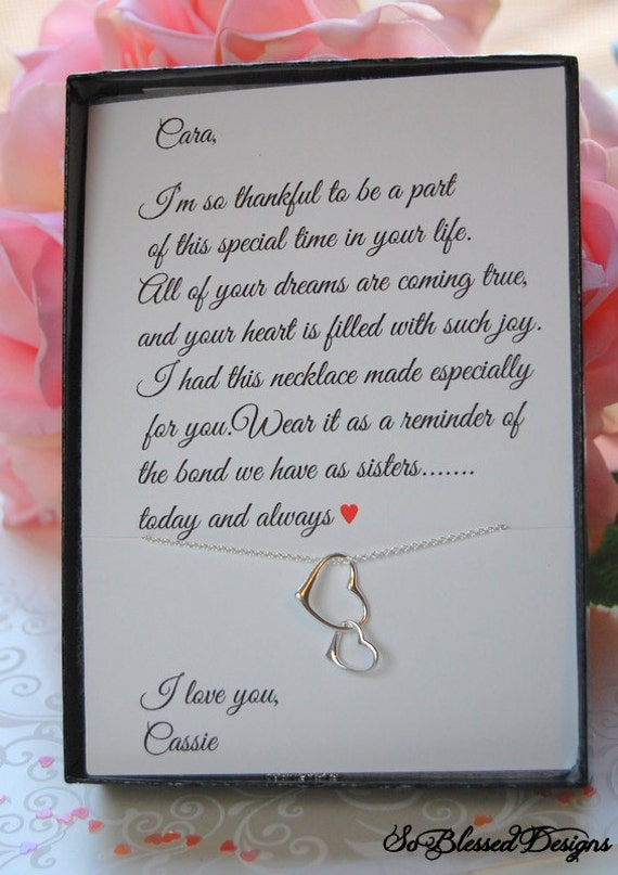 Sisters of the Bride Gift