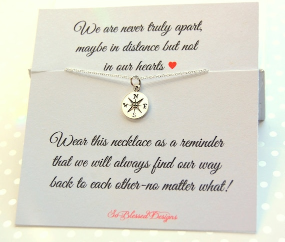 Best Friend Necklace Birthday Gift Christmas