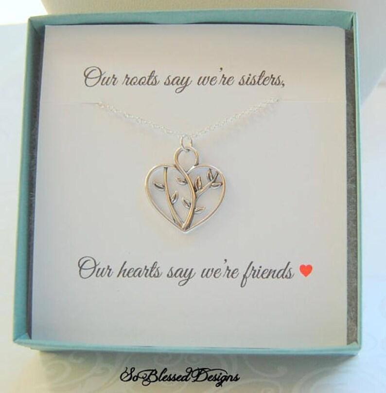 Cadeau Pour Soeur Soeurs Bijoux Soeur Poème Carte Boussole Collier Cadeau Pour Elle Cadeaux De Moins De 30 Ans Soeur En Cadeau De La Loi