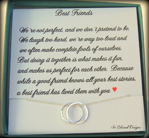 Gift For Best Friend Bridesmaid Card Best Friend Gift Etsy