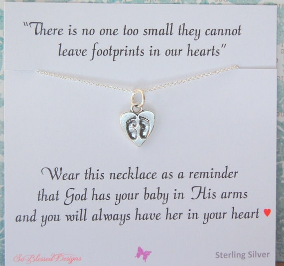Miscarriage necklace memorial necklace miscarriage jewelry miscarriage gift sympathy gift infant loss