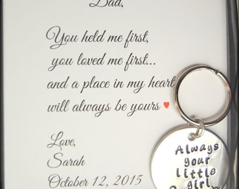 Father of the Bride gift Dad you loved me first, Father of the Bride, Gift for DAD, Gift to dad from daughter