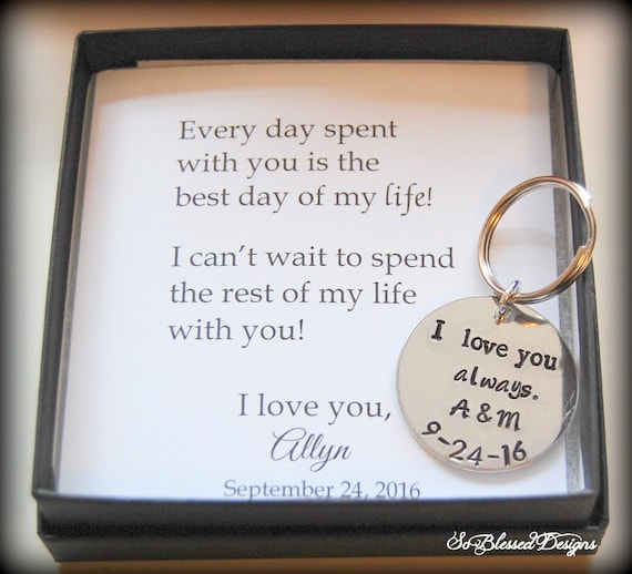 Groom Gift From Bride Wedding Day Gift To Groom From Bride Etsy