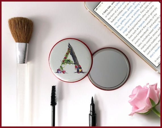 Alphabet Pocket Mirror - The Fairy Tale Collection