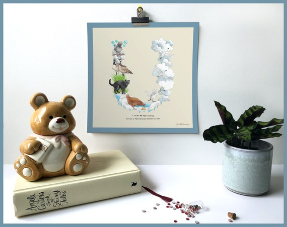 U is for The Ugly Duckling Art Print