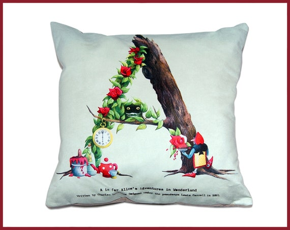 Alphabet Cushion - The Fairy Tale Collection