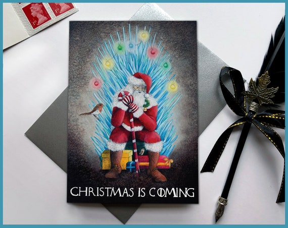 5 Pack / 10 Pack Game of Thrones Christmas is Coming Card